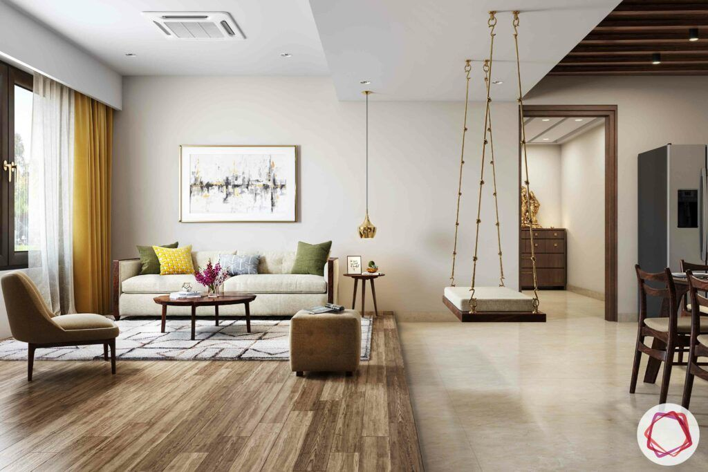 partition-designs-between-living-dining-swing-wooden swing