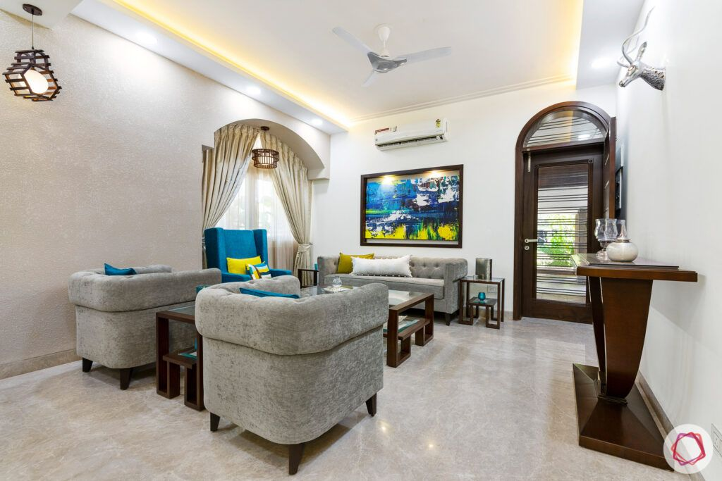 living-room-bucket-sofa-arched-curtains-false-ceiling