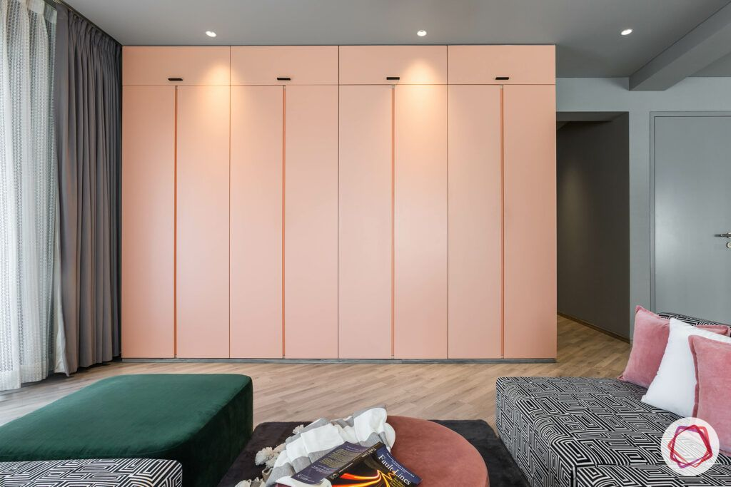 modern wardrobe-PU finish wardrobes