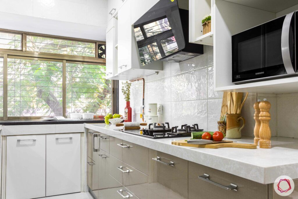 interior design company in mumbai-domino hob-chimney-kitchen cabinets