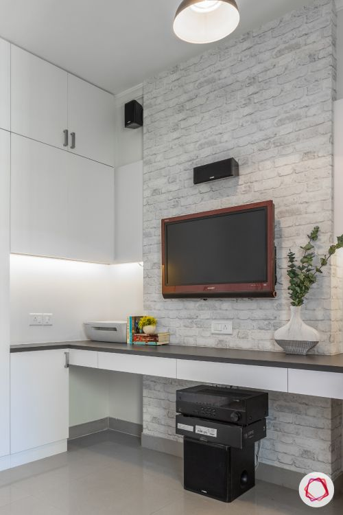 POP-designs-for-living-room-brick-wall-TV-unit