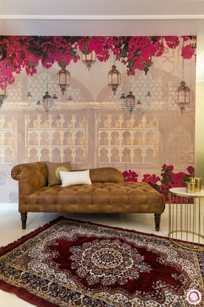 wallpaper trends 2019-red carpet designs-daybed designs