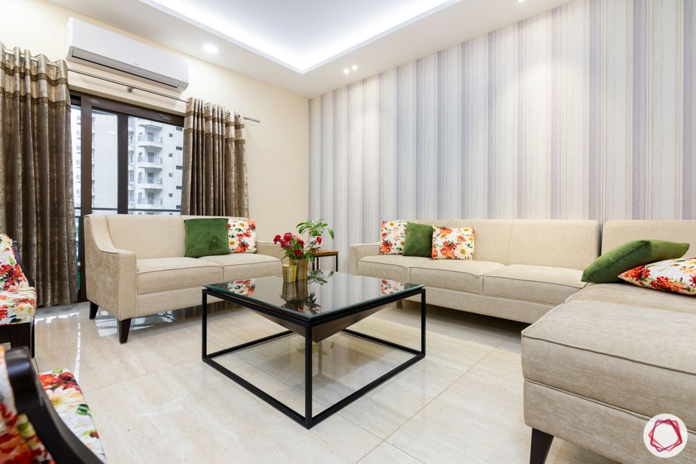 ardee city-ardee city-beige sofa-coffee table-curtains-accent chairs