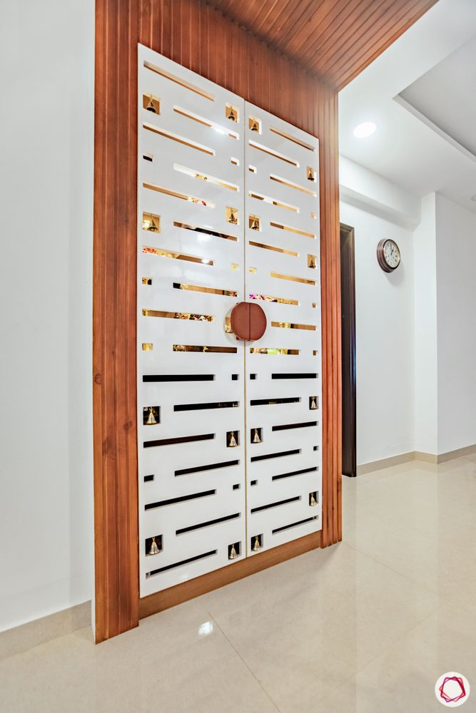 god room door design-double hinged door