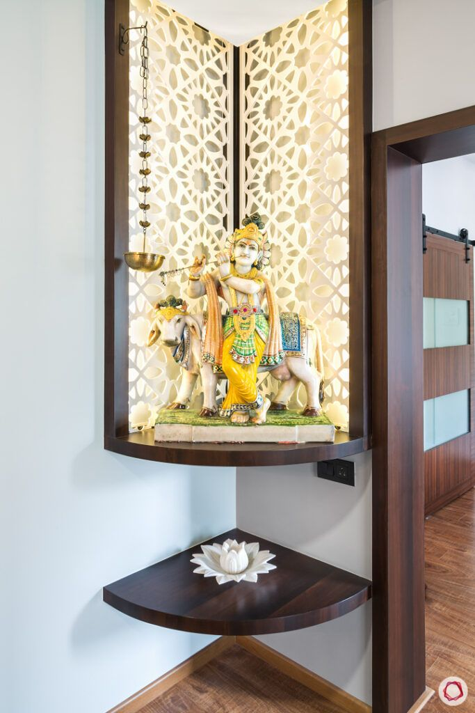 Pooja Room Designs For Flats: Create A Compact Mandir In Your Flat