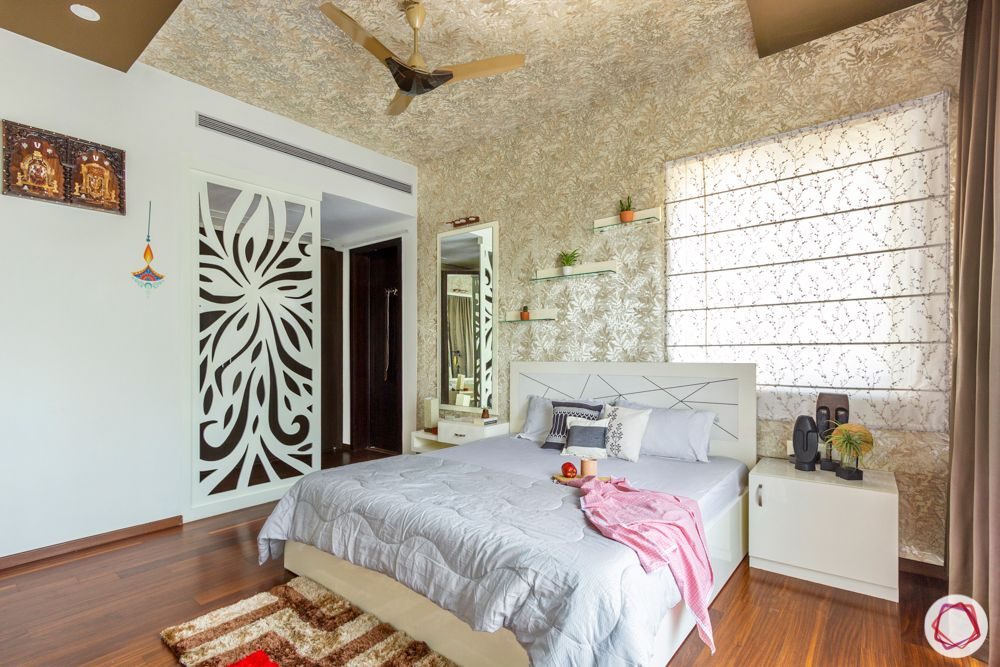 room divider ideas-wall partition-jaali partition-white partition designs