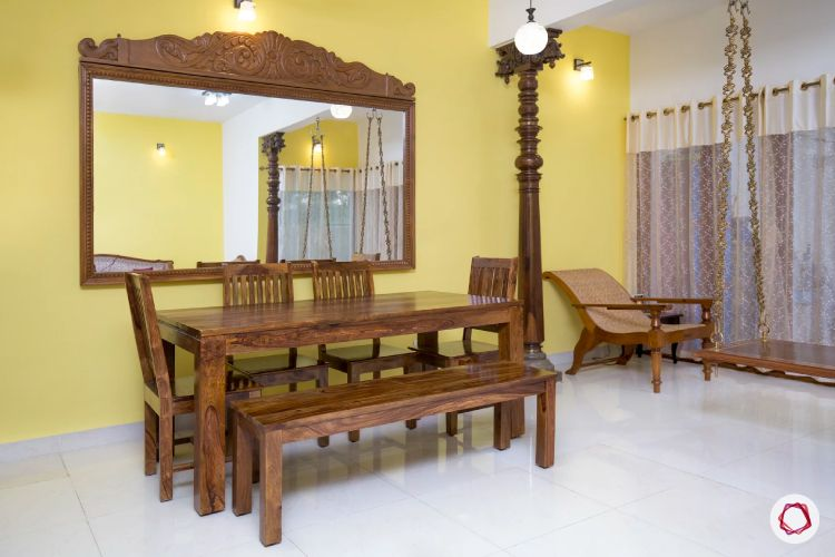 desi-decoration-wooden-mirror-wooden dining
