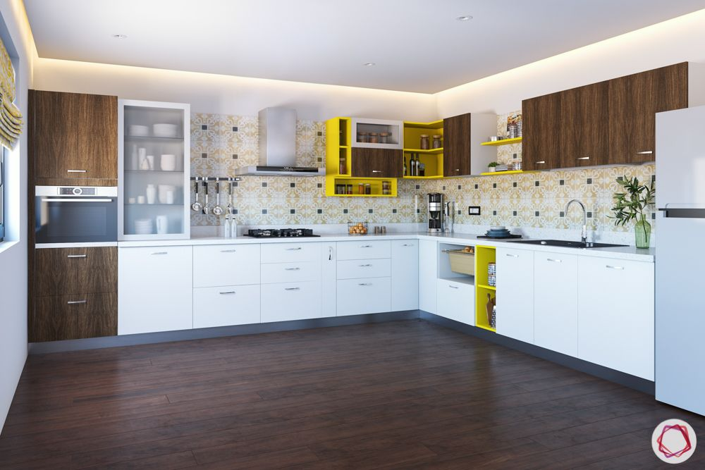 L-shaped-kitchen-split-the-zone-yellow-shelves
