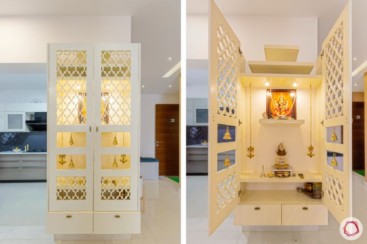 Mandir For Home 7 Best Temple Designs For Your Living Room Aquire Acres