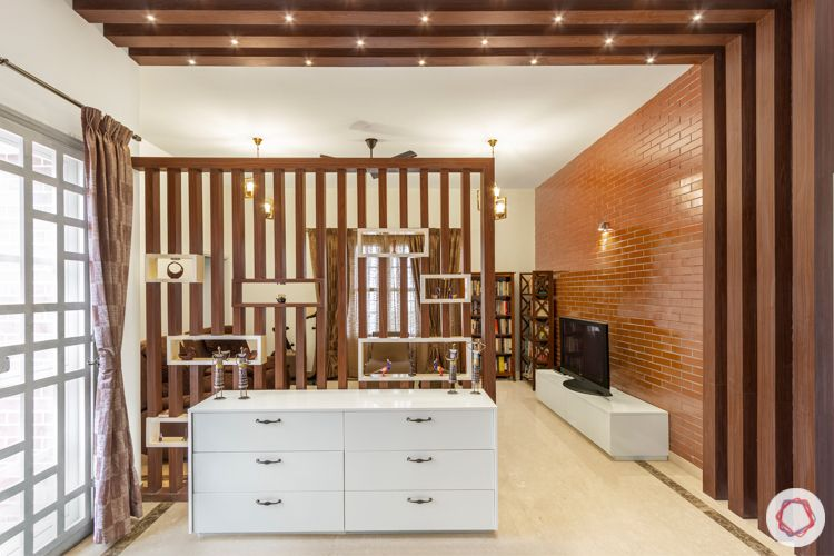 wooden beam designs-wooden partition designs-white chest of drawers