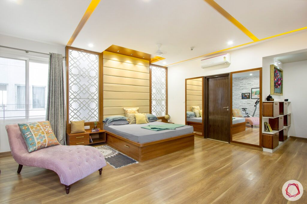 How to Reduce Interior Design Cost-laminate-wooden-flooring-bedroom