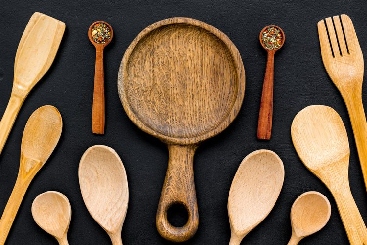 kitchen cleaning tips-woodware