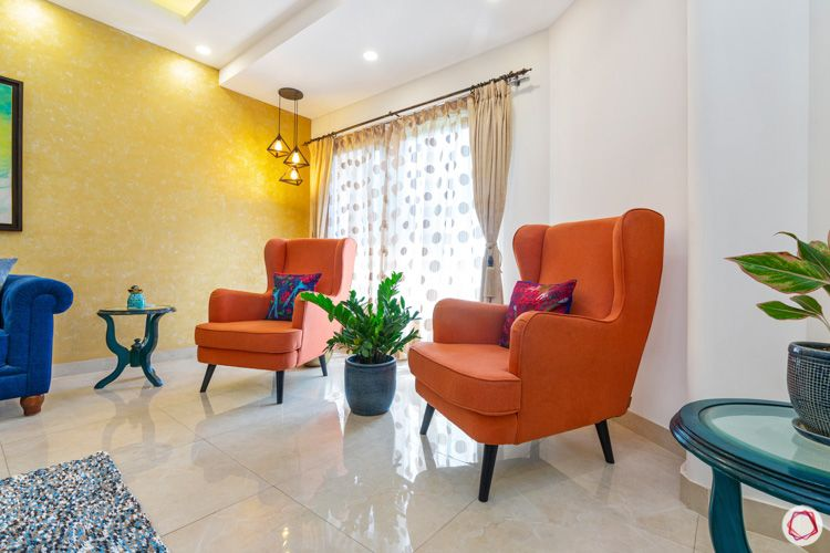 types-of-chairs-winged-back-chairs-orange-living-room-lights