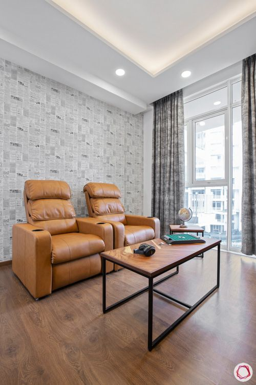 types-of-chairs-recliner-tan-wooden-flooring-table