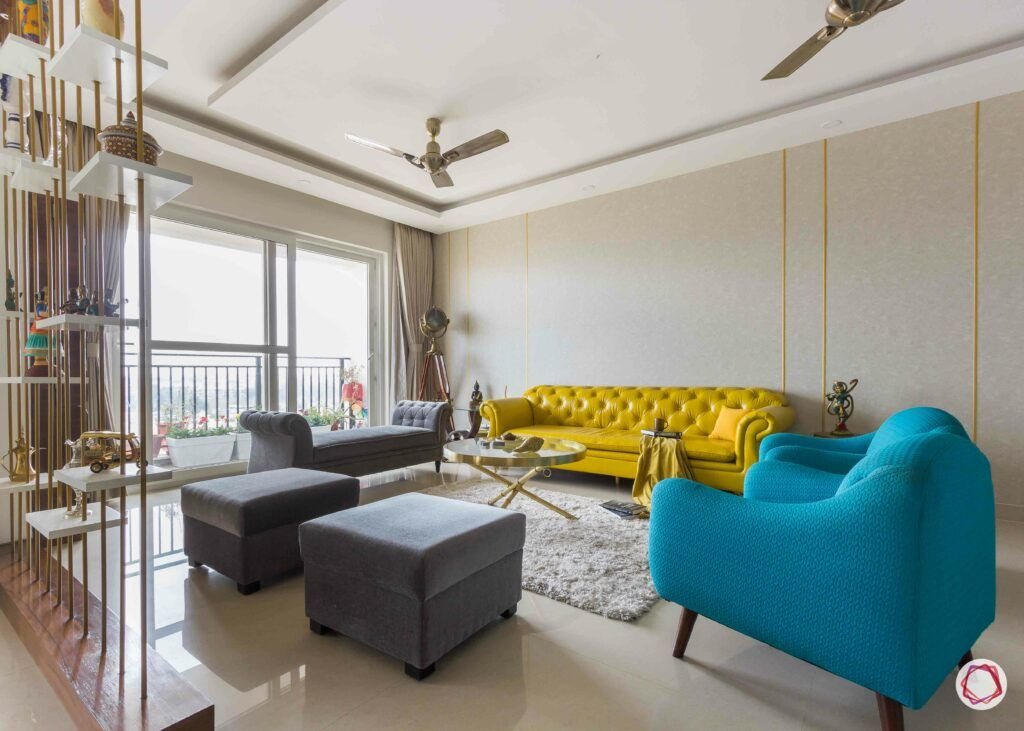 bangalore-home-design-living-room-yellow-couch-grey-daybed