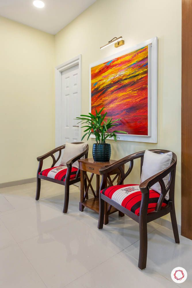 3BHK-design-cosy-corner-seating-armchair-painting