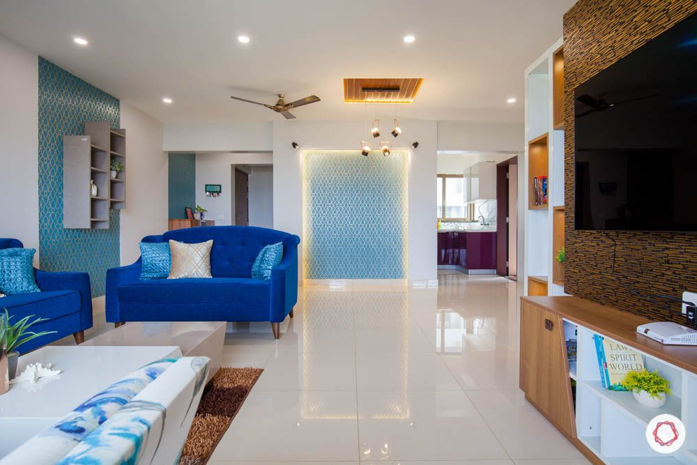 This 2bhk Gets A Clutter Free Budget Design