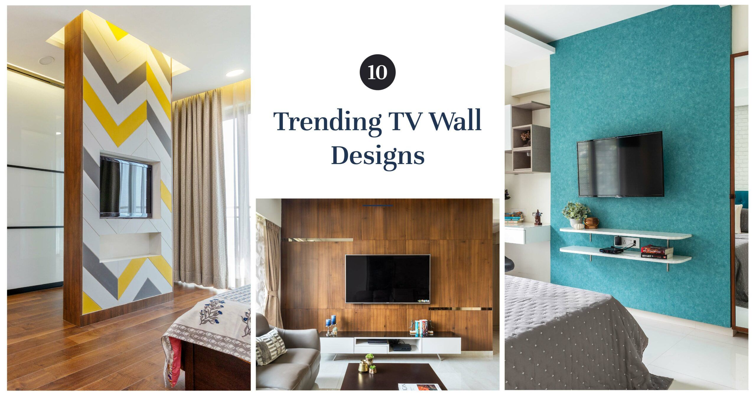 19 Ways to Give Your TV Wall a Striking Upgrade