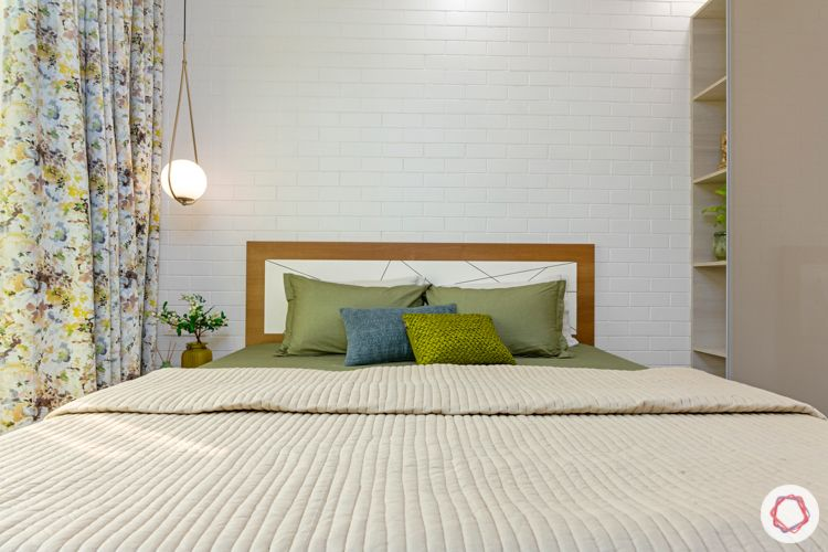 2-bhk-home-design-guest-bedroom-exposed-brick-wall