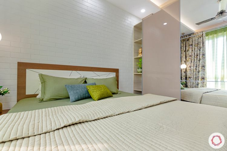 2-bhk-home-design-guest-bedroom-acrylic-wardrobes