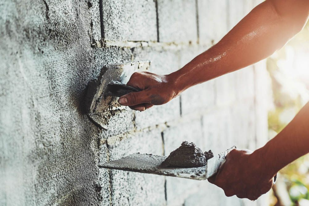 how often should you paint your house-plastering wall