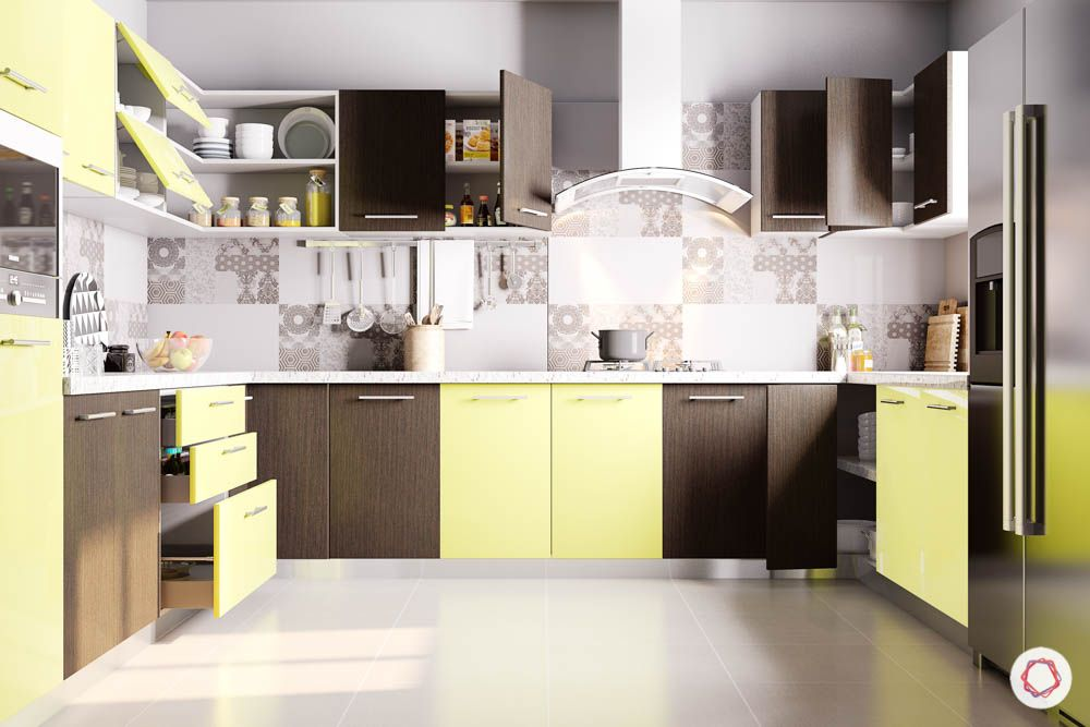 accent-colors-for-brown-kitchens-yellow-shutters