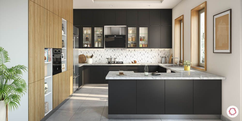 accent-colors-for-brown-kitchens-black-cabinets