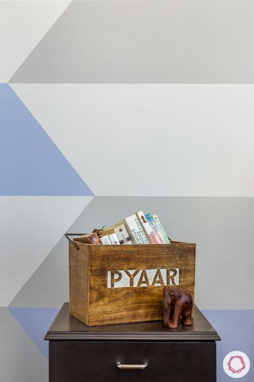 4-BHK-home-design-kids-bedroom-colourful-wall-sidetable