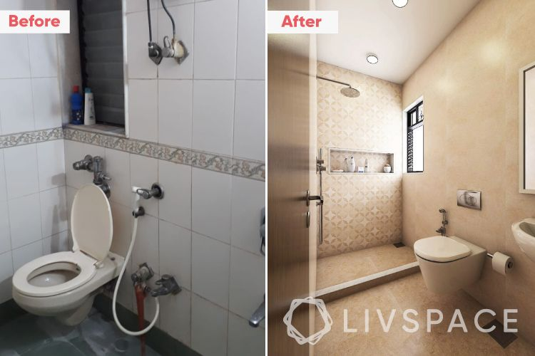 2-bhk-flat-in-mumbai-master-bathroom-before-after