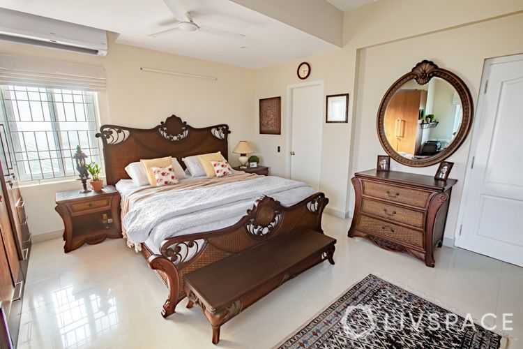 wooden-bed-headboard-carved-traditional