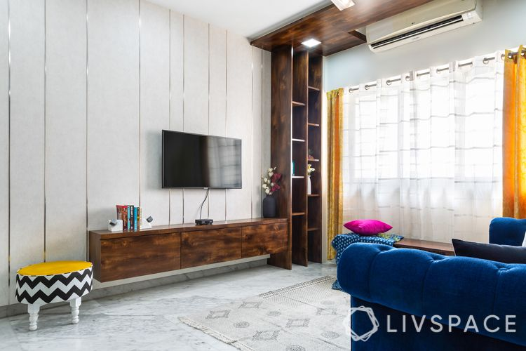 small-living-room-design-wall-mounted-TV-unit-cabinet-showcase