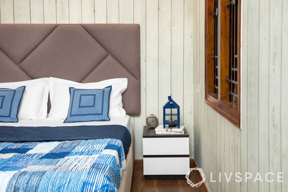 guest room design-nightstand-side table