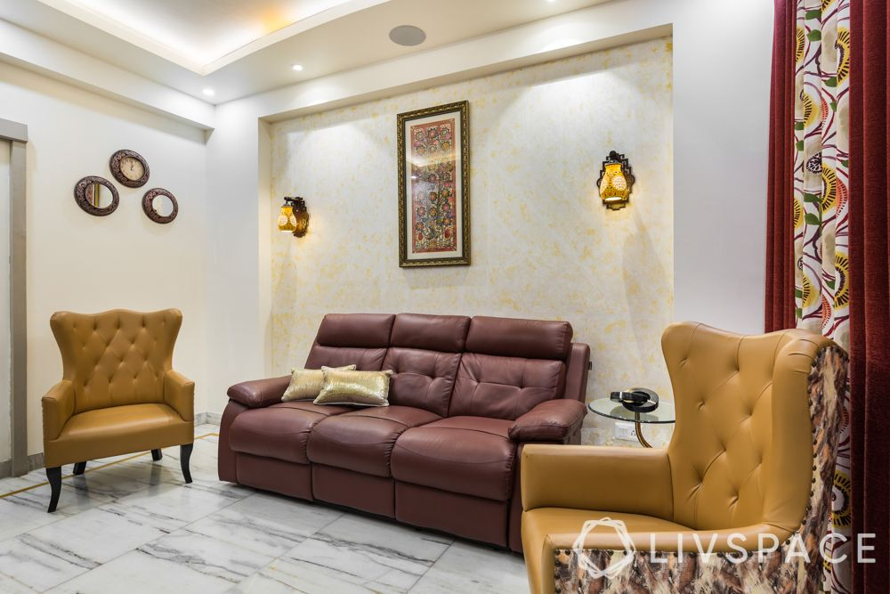 4-bhk-in-dwarka-entertainment-room-mustard-accent-chairs