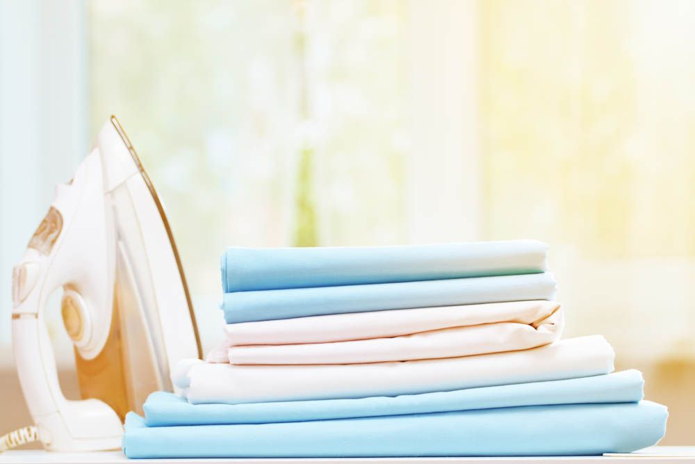 how to clean a mattress-bedsheets-ironing-bedding