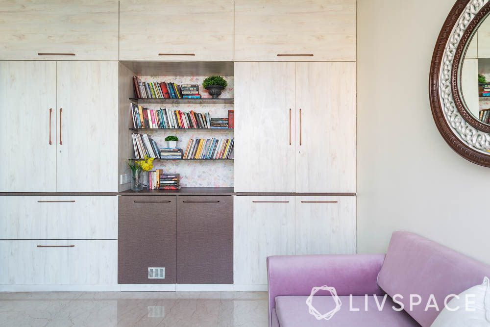 3bhk-house-design-storage-bookshelf