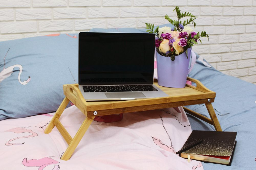 home office ideas-laptop table