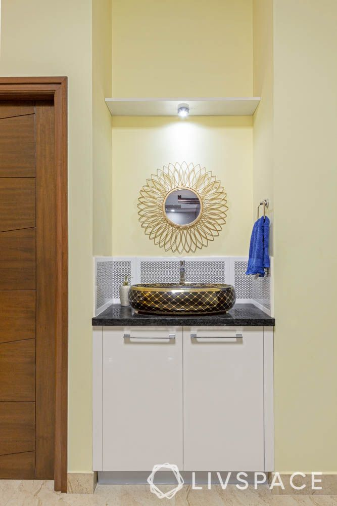 top 10 interior designers in bangalore-sink-cabinets