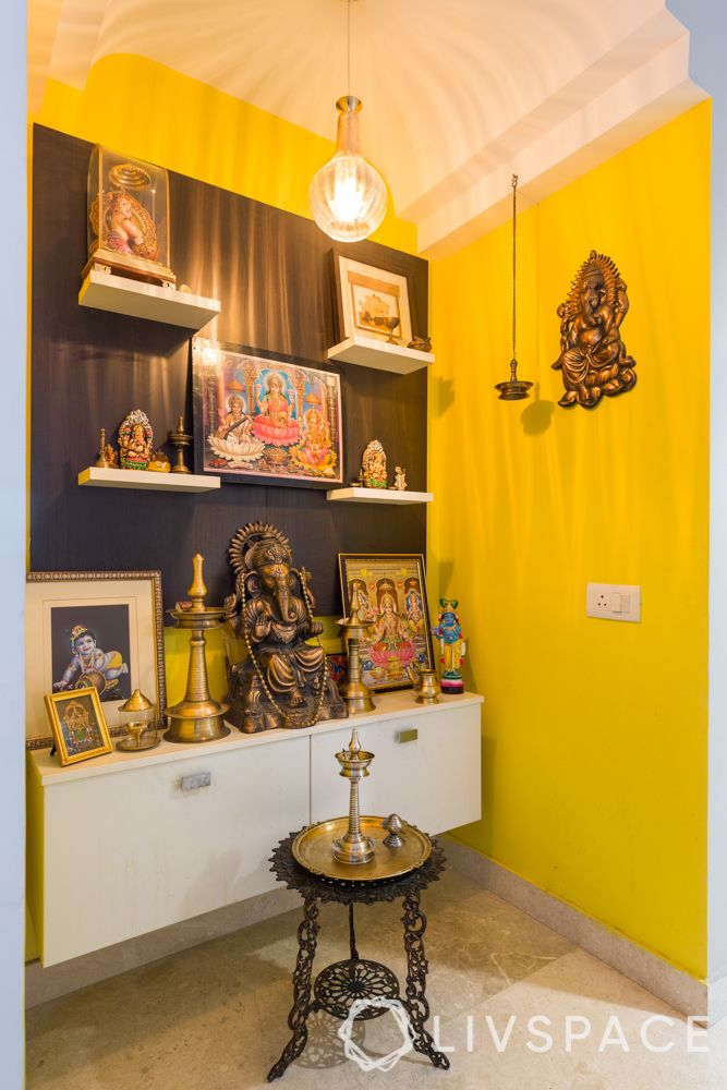 Contemporary Pooja Room Designs: For An Easy-to-maintain Mandir, Explore Designs In Plywood