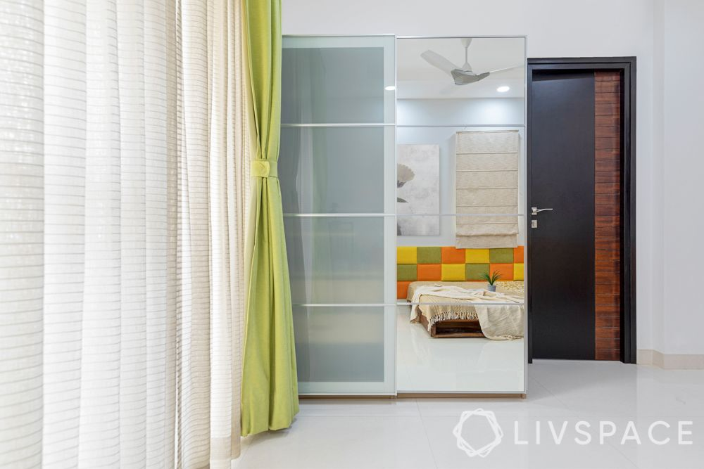 interiors in hyderabad-wardrobe-sliding doors