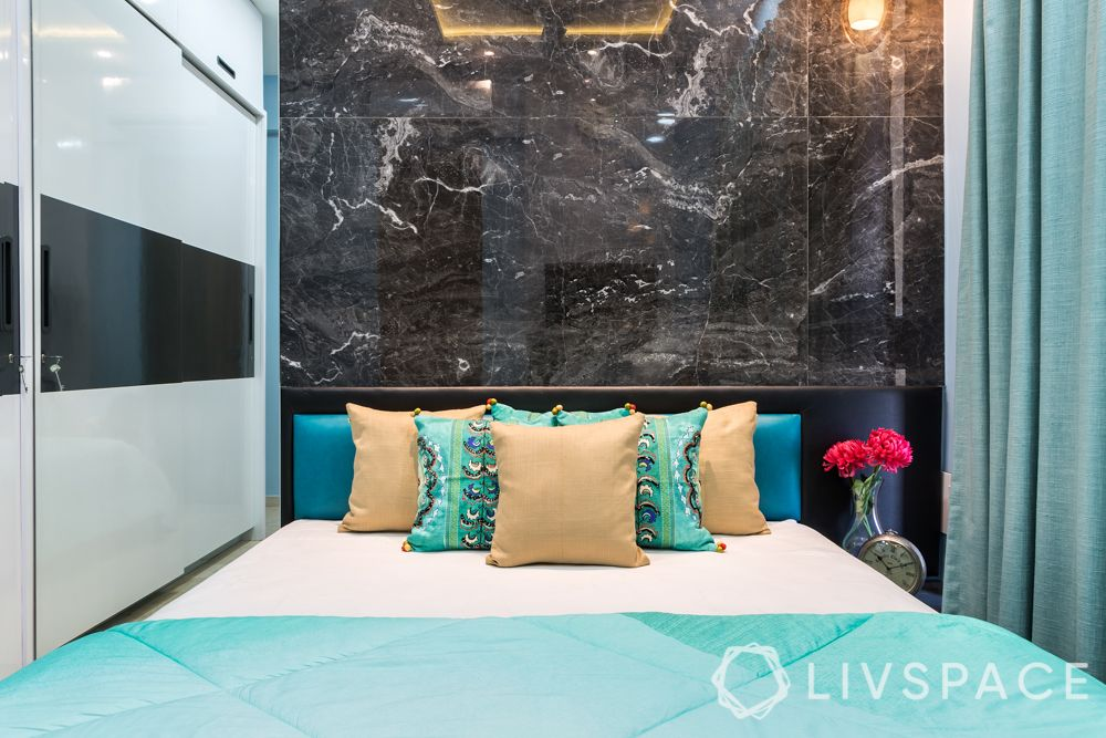 Indian marble and Italian marble-introduction-black marble wall