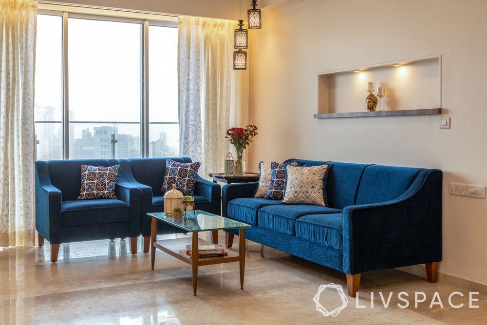 small budget big makeover-sofa-cushions-patterned