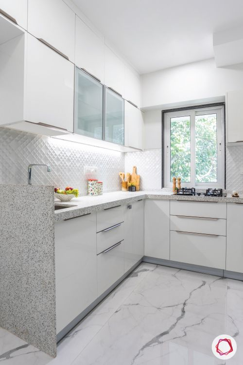 kitchen design singapore-white kitchen-cabinets-contemporary kitchen