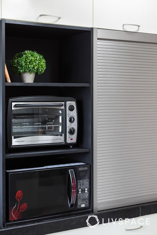 new kitchen on a budget-roller shutter designs