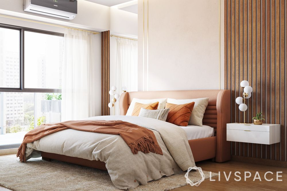 humidity in house-brown and beige bedroom colour-window designs-A/C