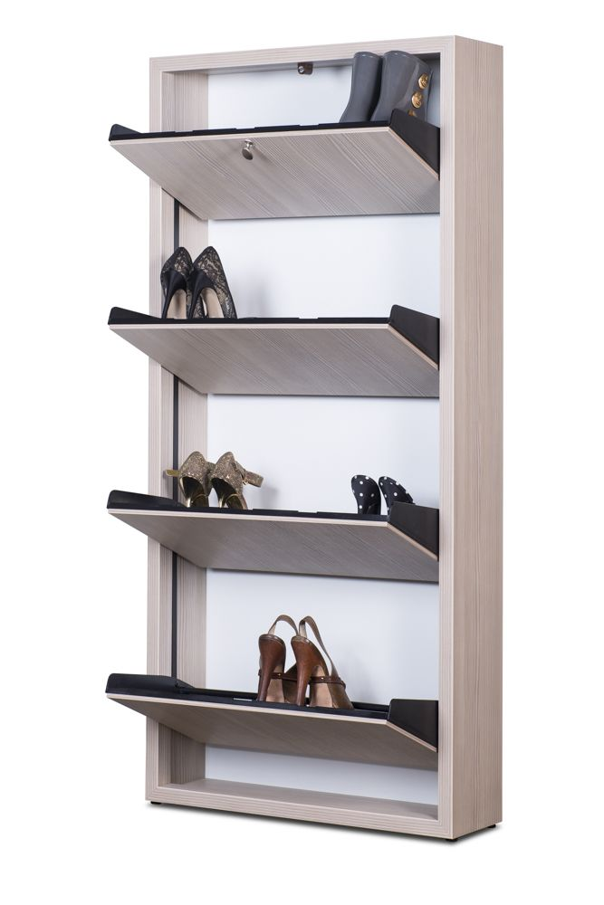 house renovation ideas-vertical shoe rack-space saving furniture