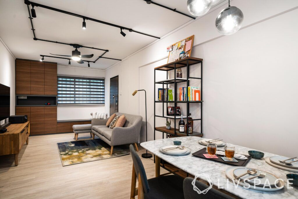 A renovated home with smart solutions for compact spaces