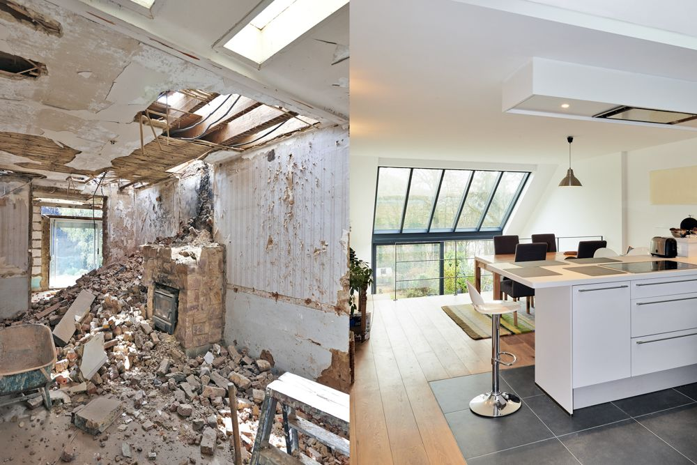 renovation cost singapore-before after renovation