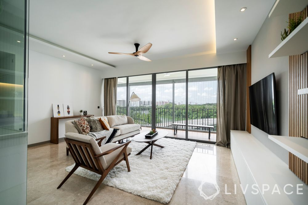 renovation cost singapore-living room