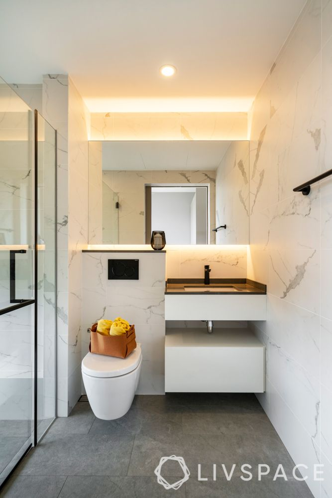 renovation cost singapore-marble-bathroom tiles