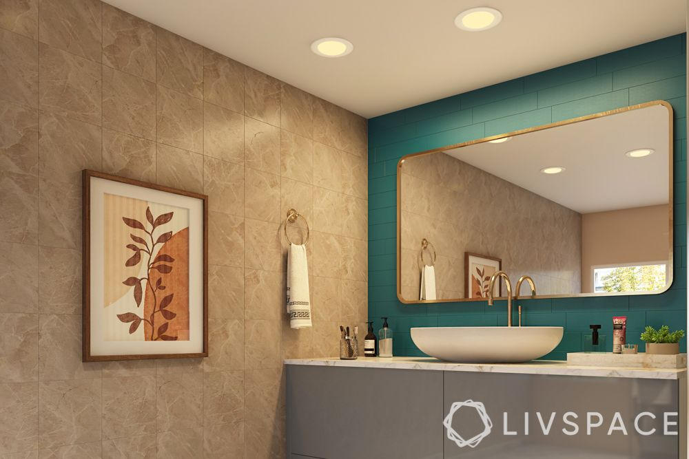 types of lighting-recessed lights-bathroom-ceiling light